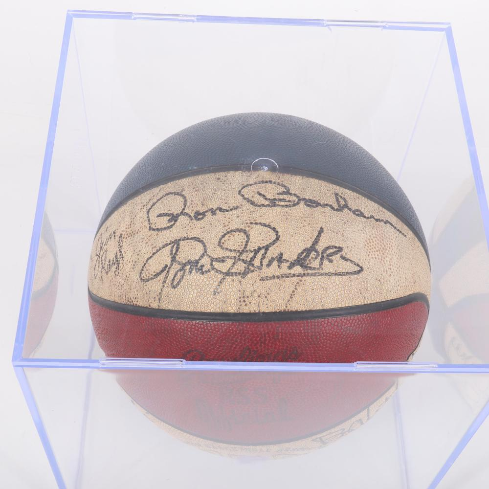 Indiana Pacers Game Used ABA Autographed Basketball