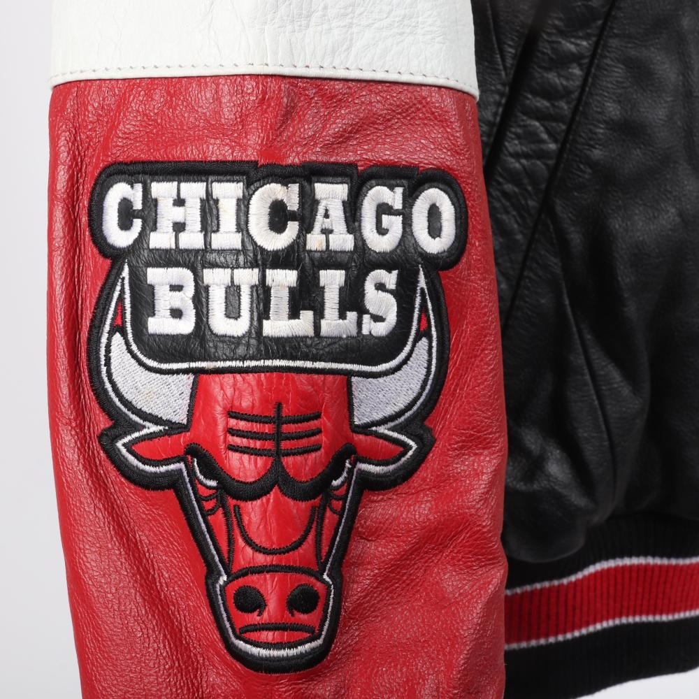 Chicago Bulls 6 Time NBA Champions Leather Jacket.