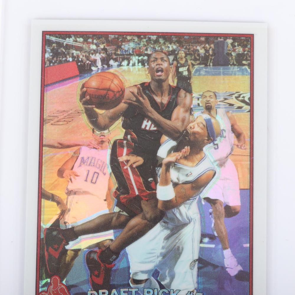 2003-04 Dwyane Wade Topps Chrome Refractor Rookie Card #115