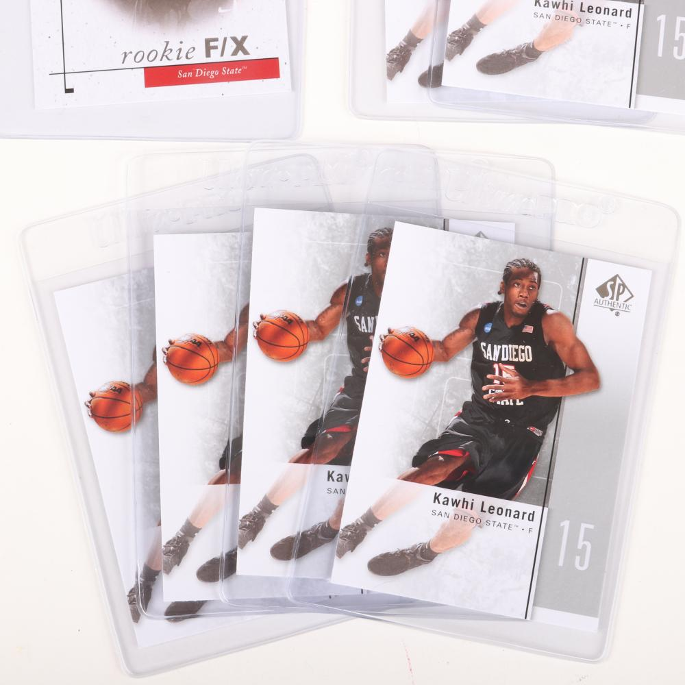 7 - 2011-12 Kawhi Leonard SP Rookie Basketball Cards
