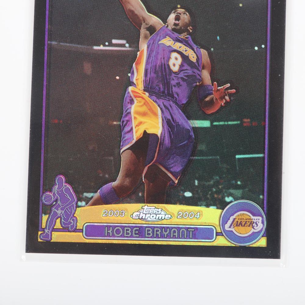 2003-04 Topps Chrome Kobe Bryant Black Refractor #36, 370/500.
