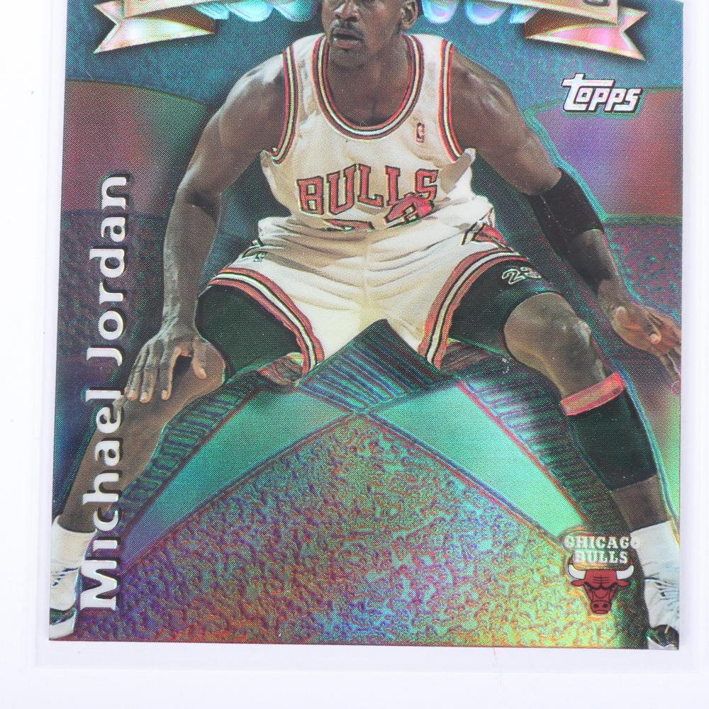 1997-98 Michael Jordan Generations Die Cut Refractor Insert #G2
