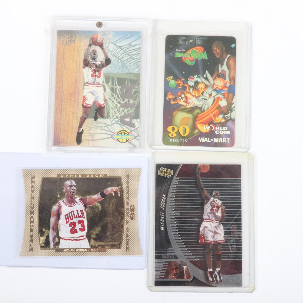 Lot of 16 1996-98 Michael Jordan Basketball Cards