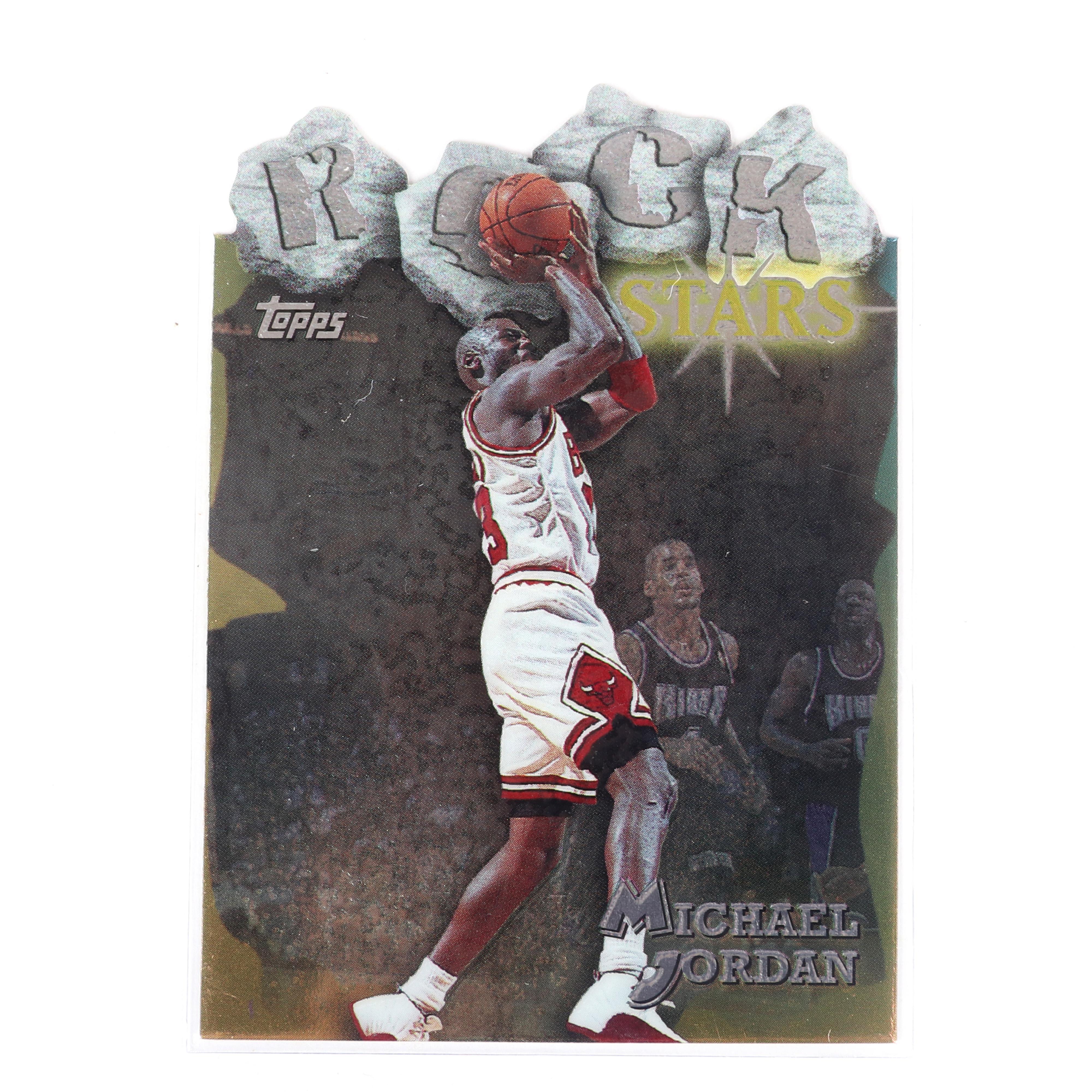 1997-98 Topps Michael Jordan Rock Stars Die Cut Insert #RS1