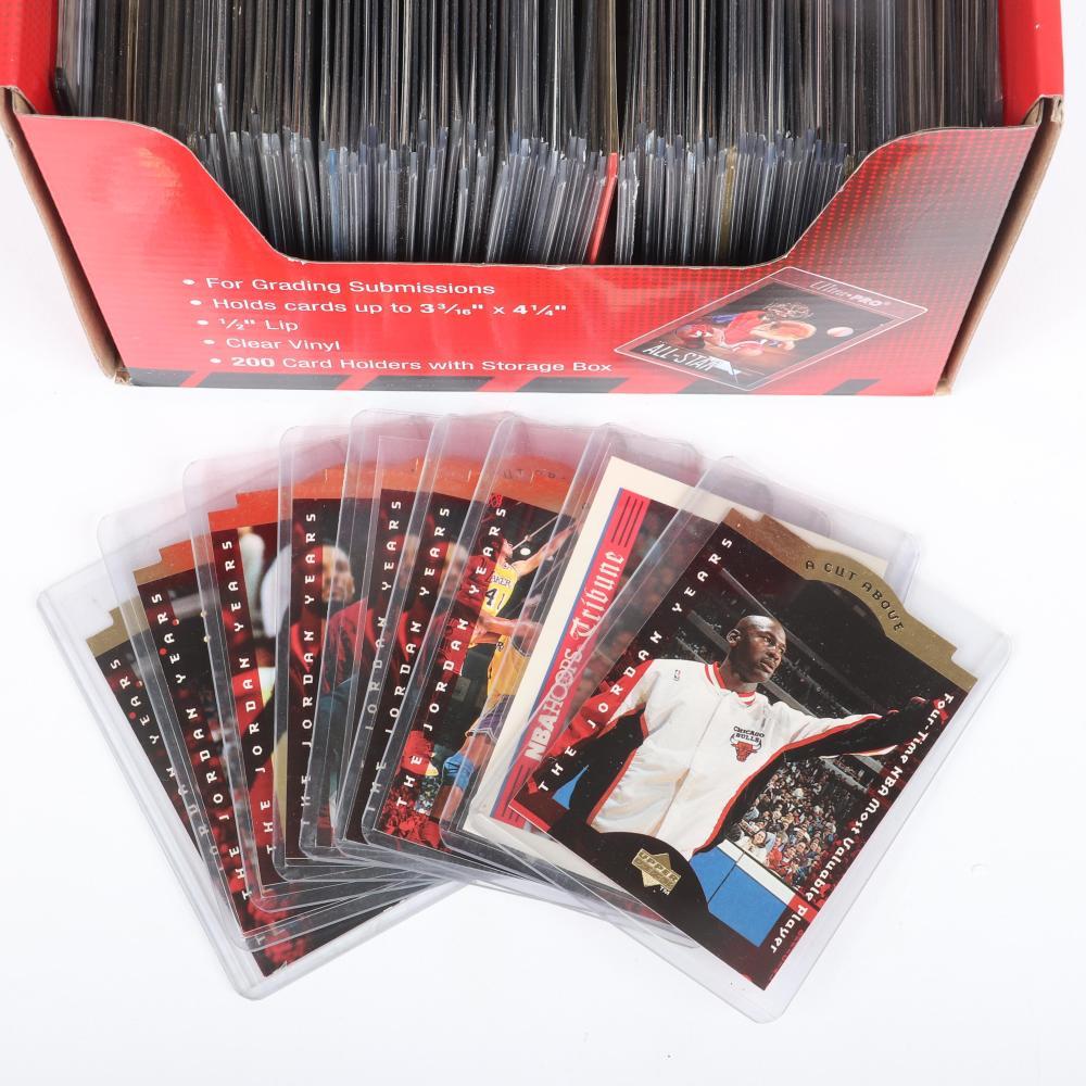 Lot of 100 Michael Jordan Cards