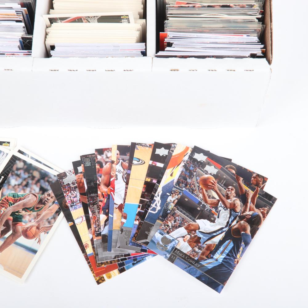 3200 Count Box of NBA Basketball Cards