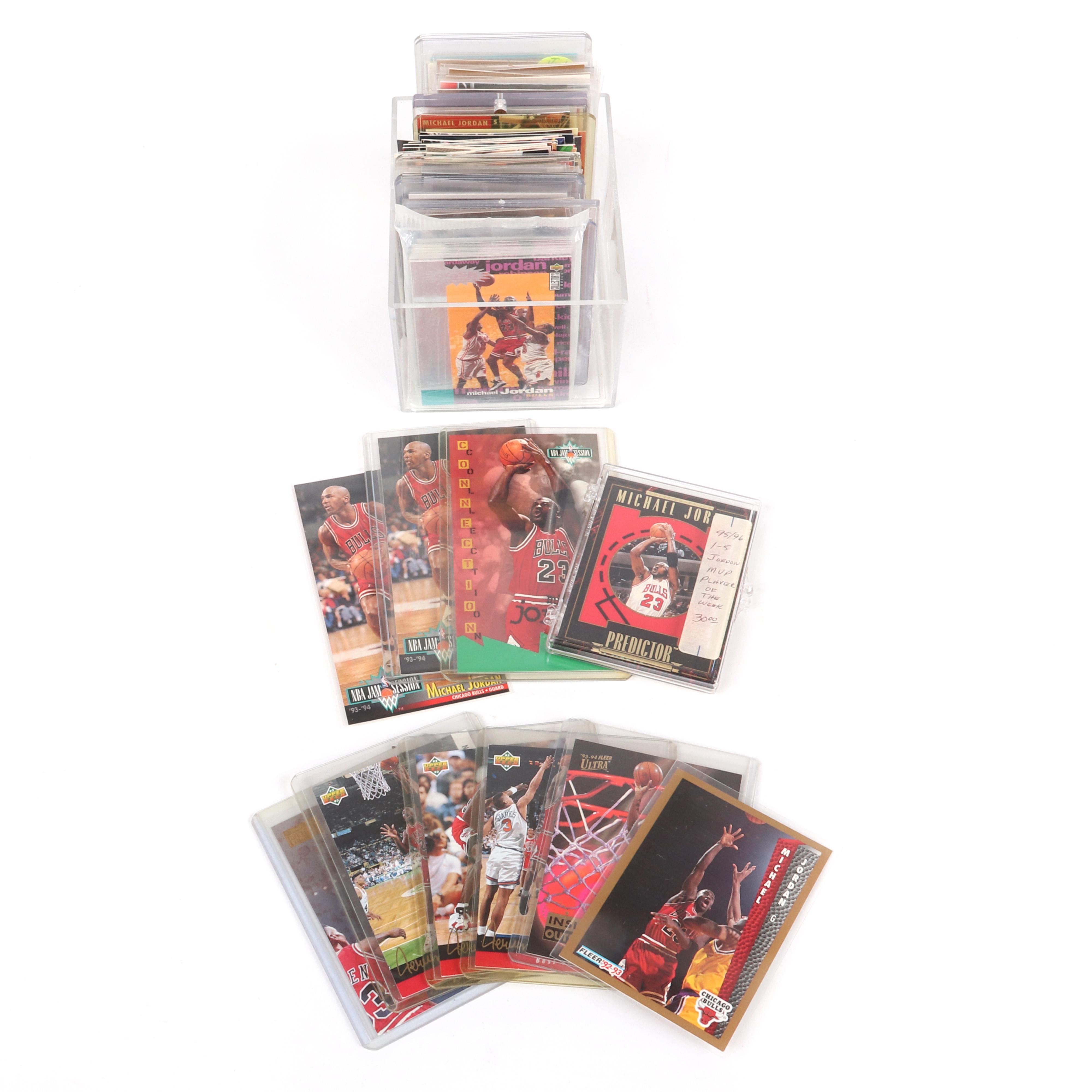 181 Michael Jordan Basketball Cards