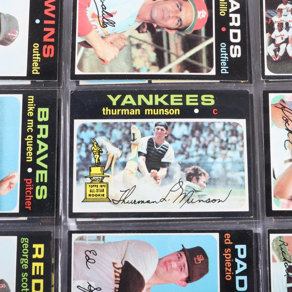 1971 Topps Baseball Complete 752 Card Set, EX-MT -NM