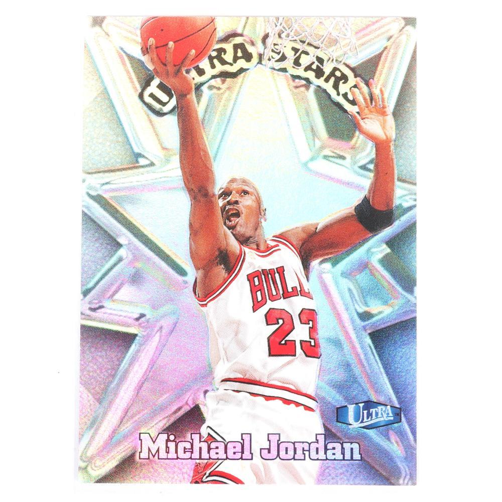 1997-98 Michael Jordan Fleer Ultra Stars Insert #1 of 20 US