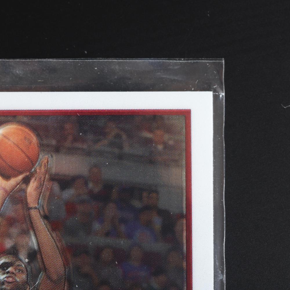 2003-04 Topps Chrome Lebron James Rookie Card #111.