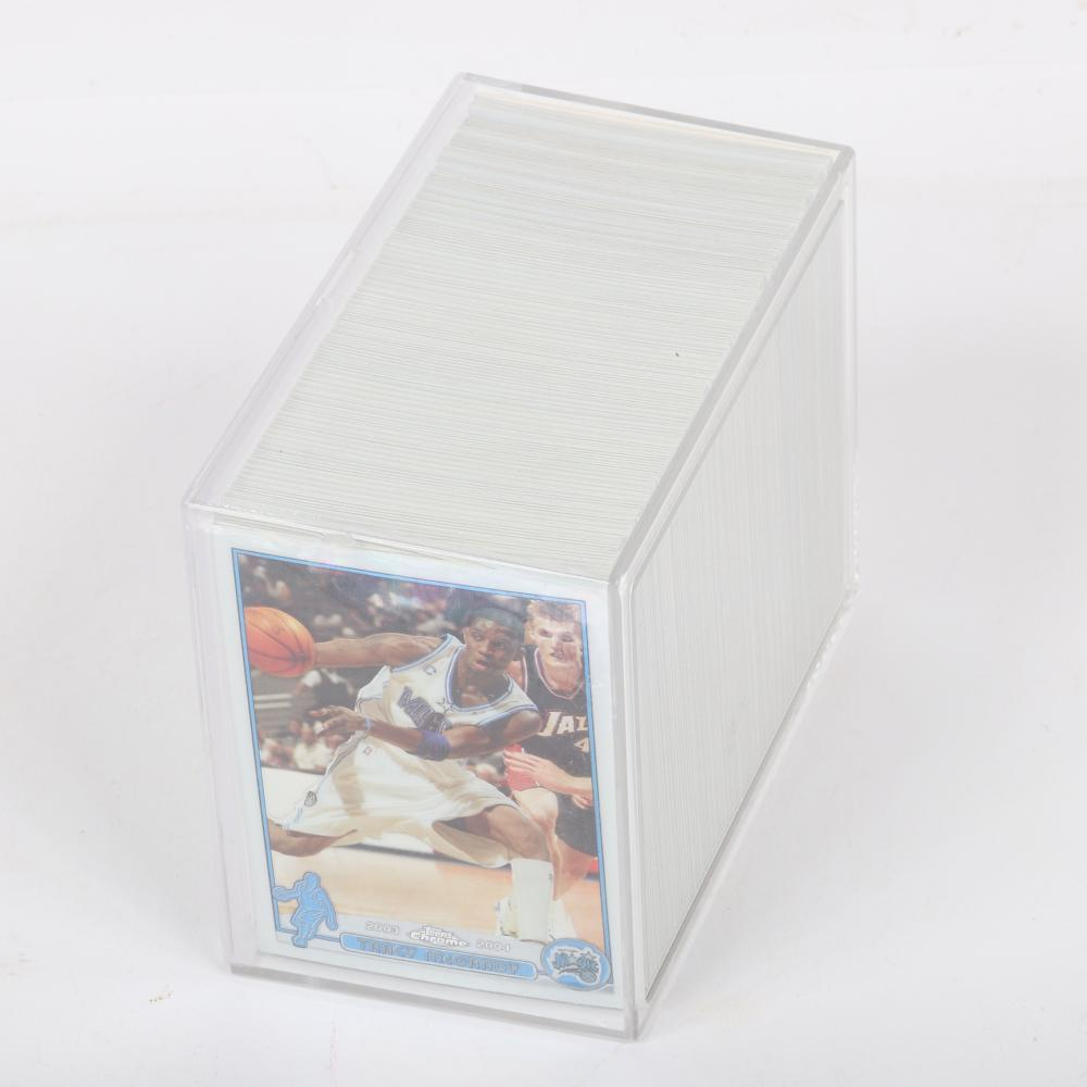 2003-04 Topps Chrome Complete Set w/ James, Wade, Carmelo, Bosh Rookies