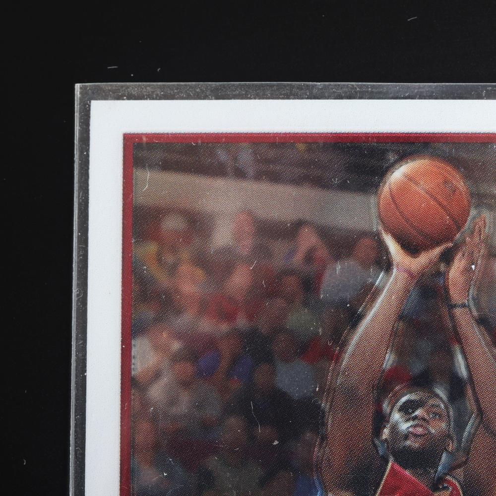 2003-04 Lebron James Topps Chrome Rookie Card #111