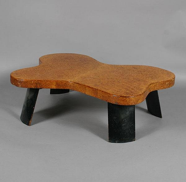 Paul T Frankl Cork Coffee Table For, Paul Frankl Johnson Furniture Company