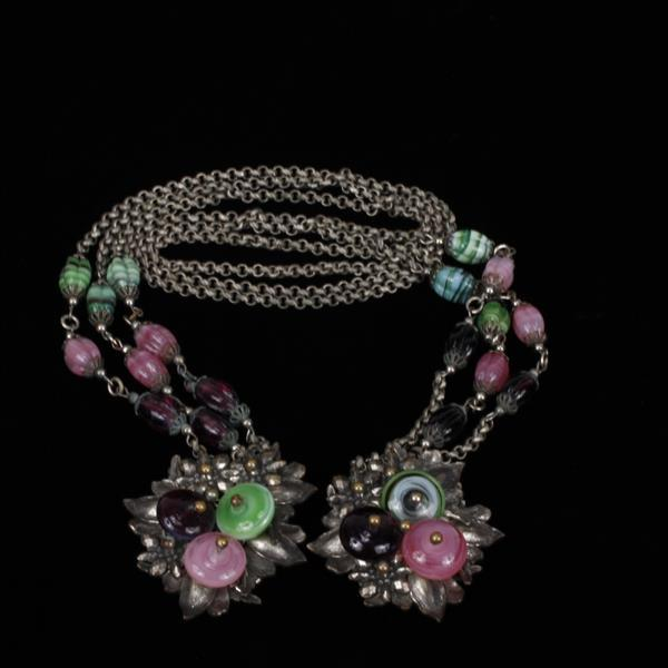 Miriam Haskell Wrap Necklace