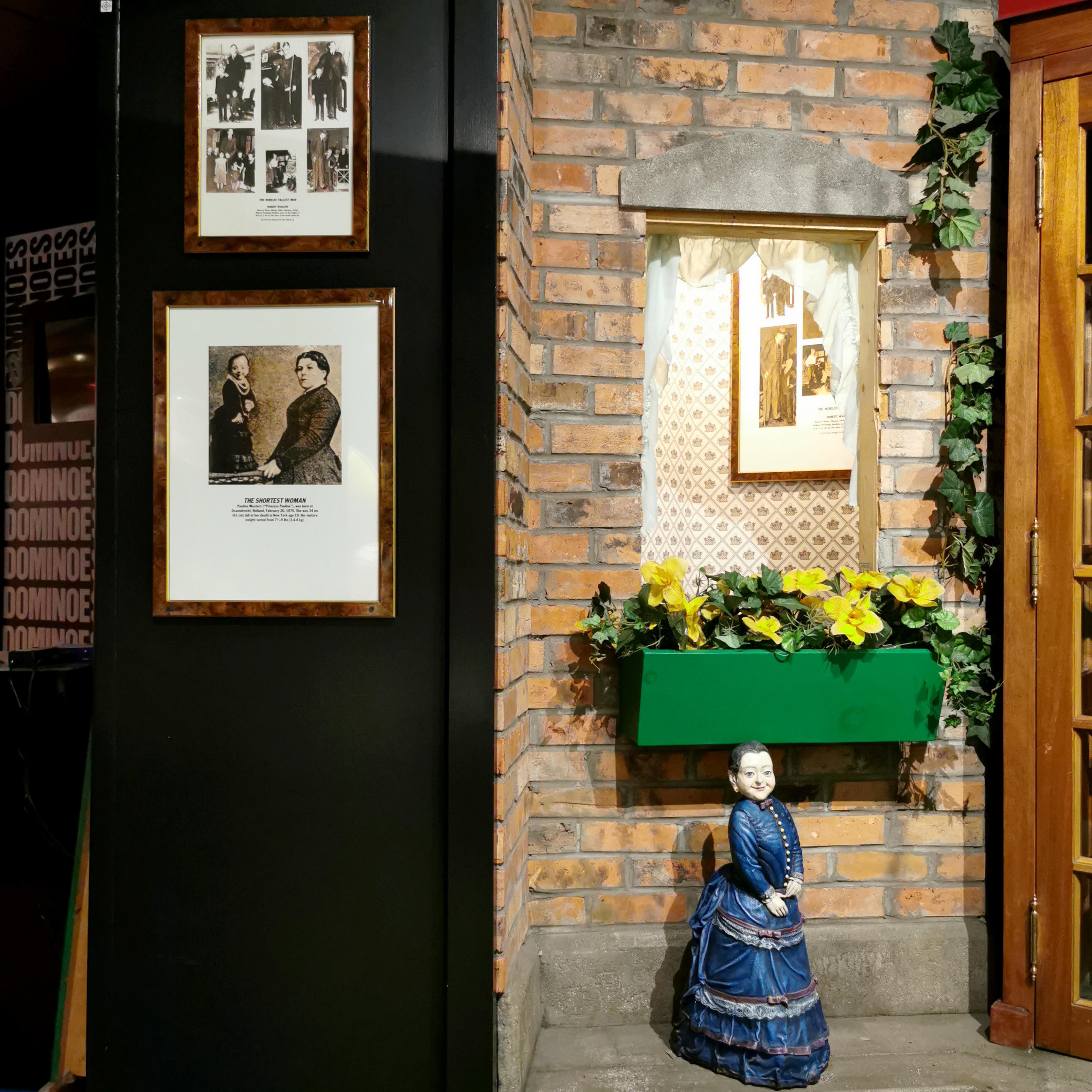 World's Smallest Woman Character Guinness Museum Display