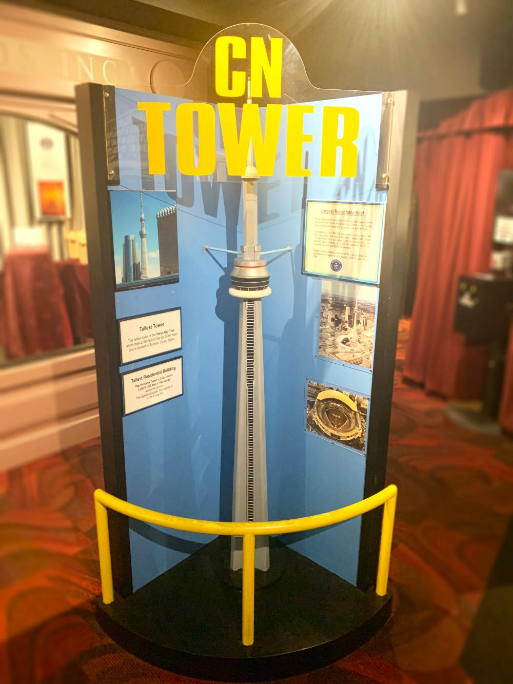 CN Space Tower Guinness Museum Display