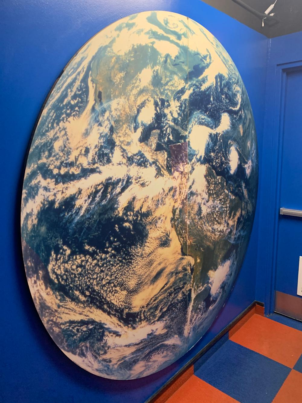 Large Globe Guinness World Records Museum display