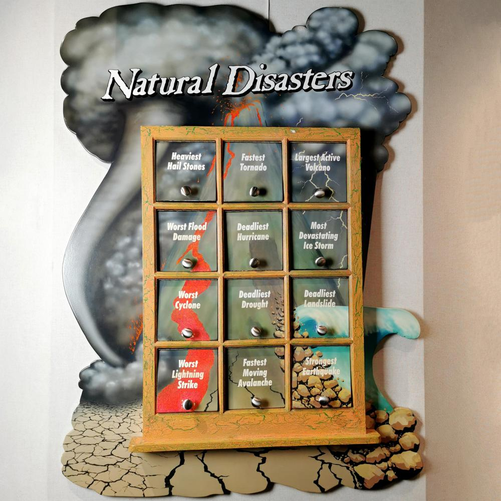 Natural Disasters Trivia Museum Interactive Weather Display Guinness World Records