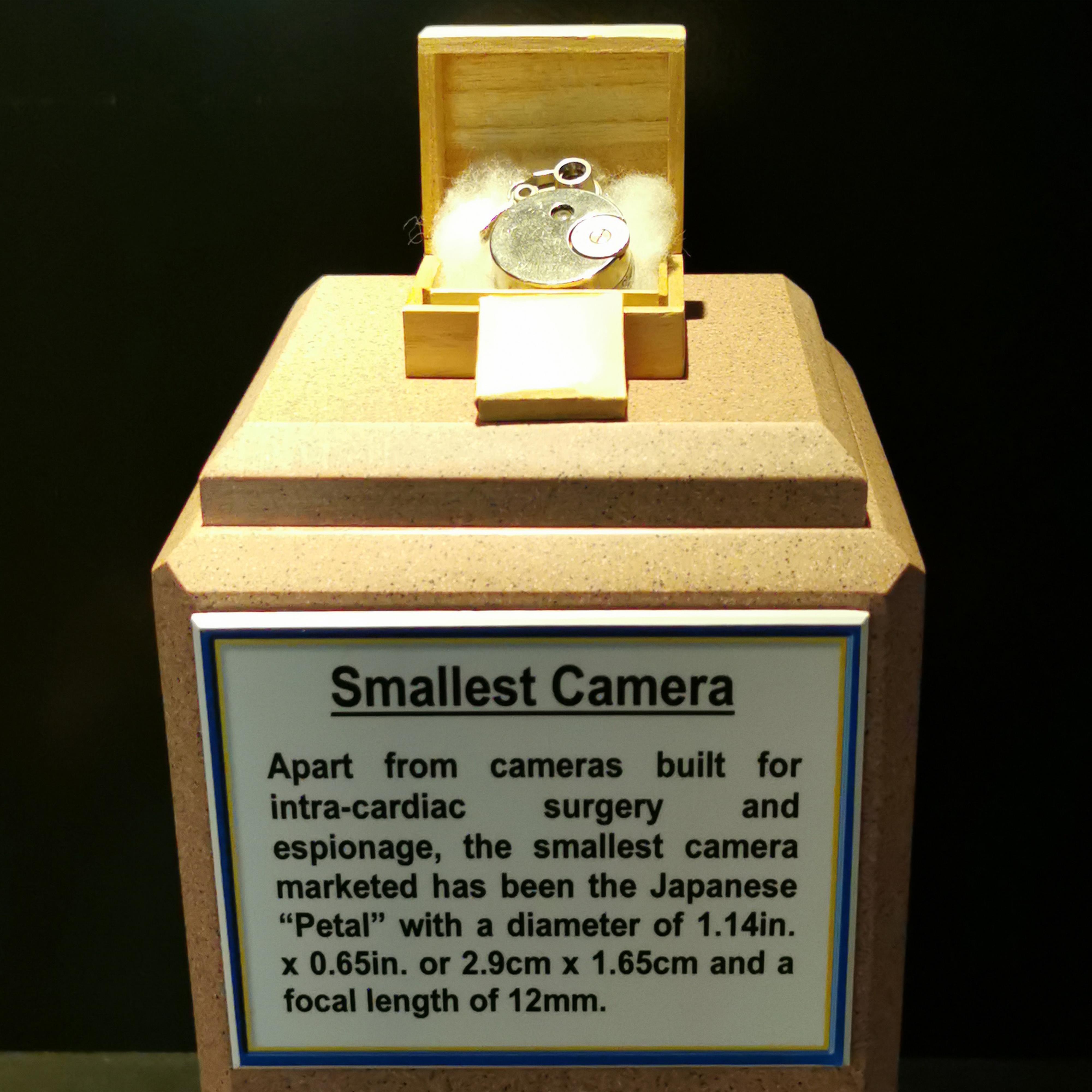Petal Camera World's Record Camera Museum Display