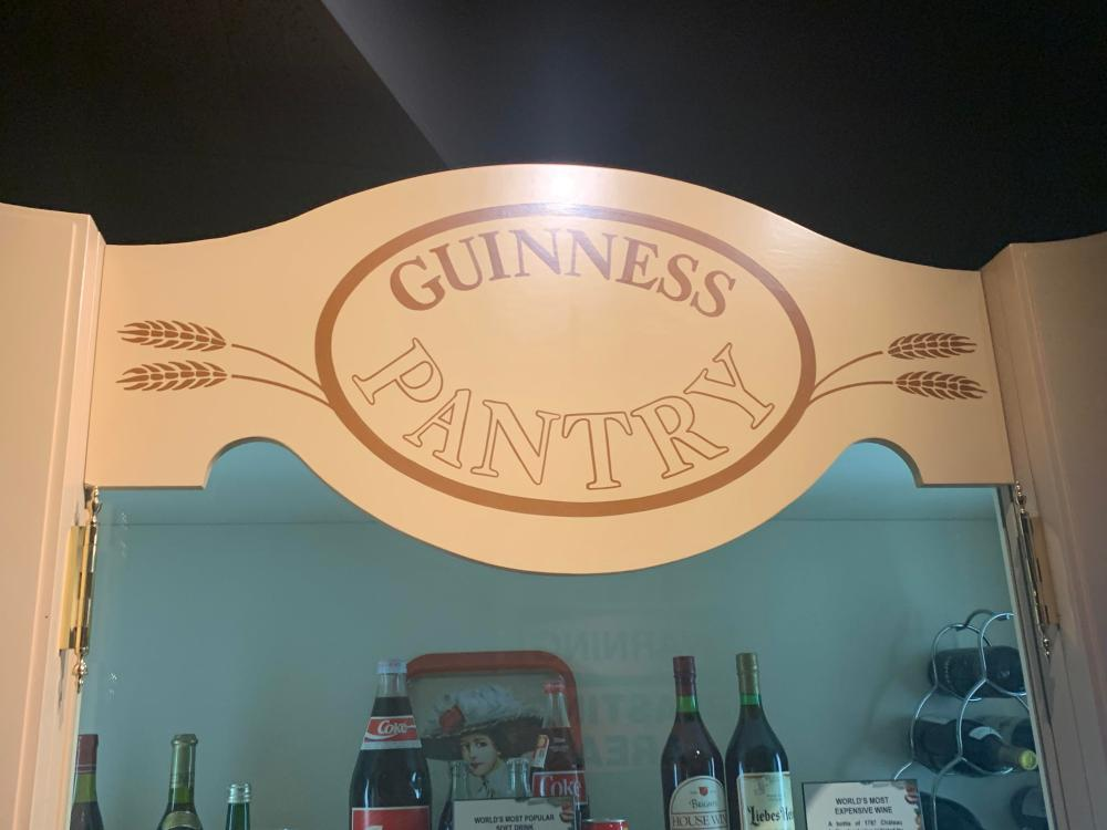 Guinness Wine Food Speed Record Display Cards Props