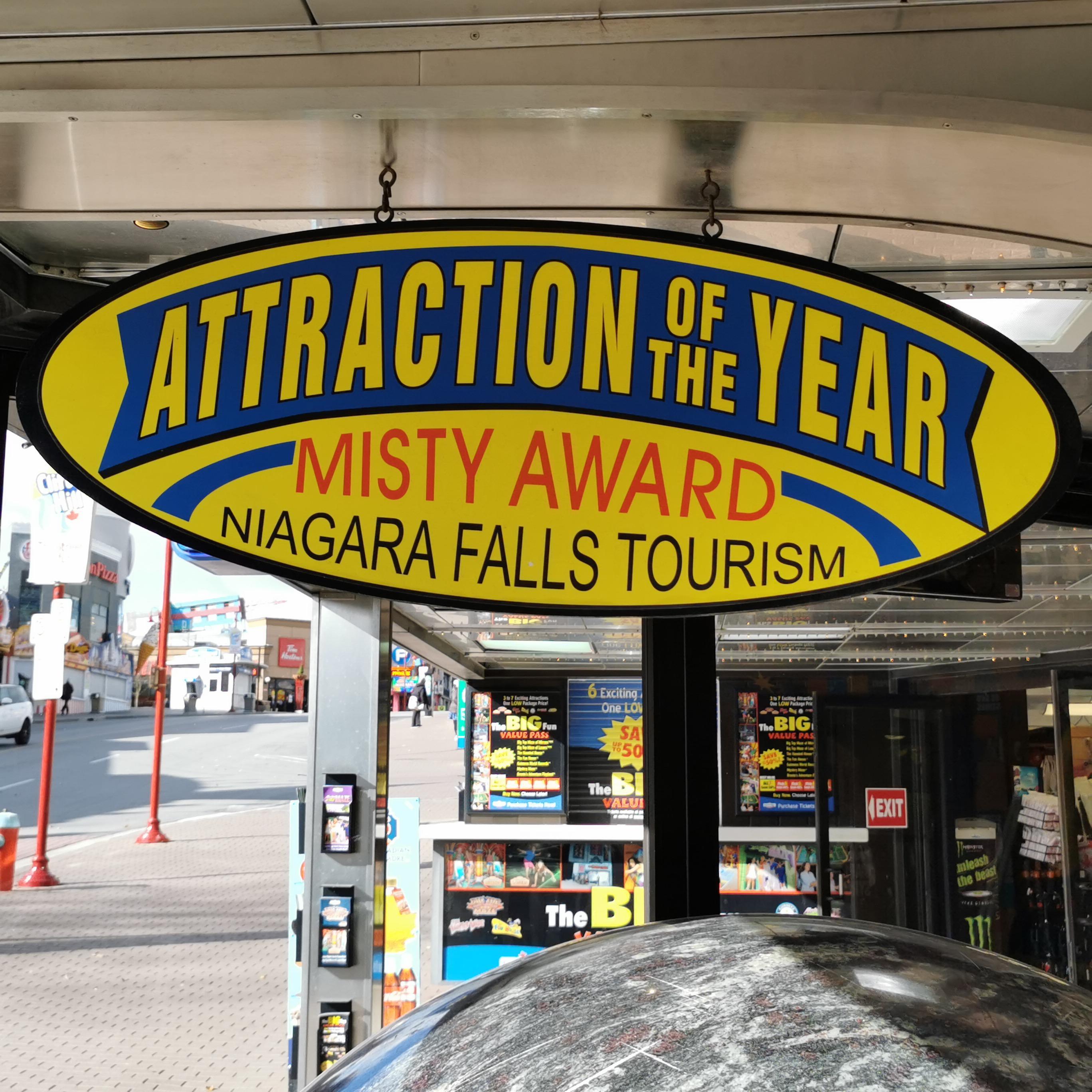 Guinness Museum Misty Awards Niagara Falls Memorabilia