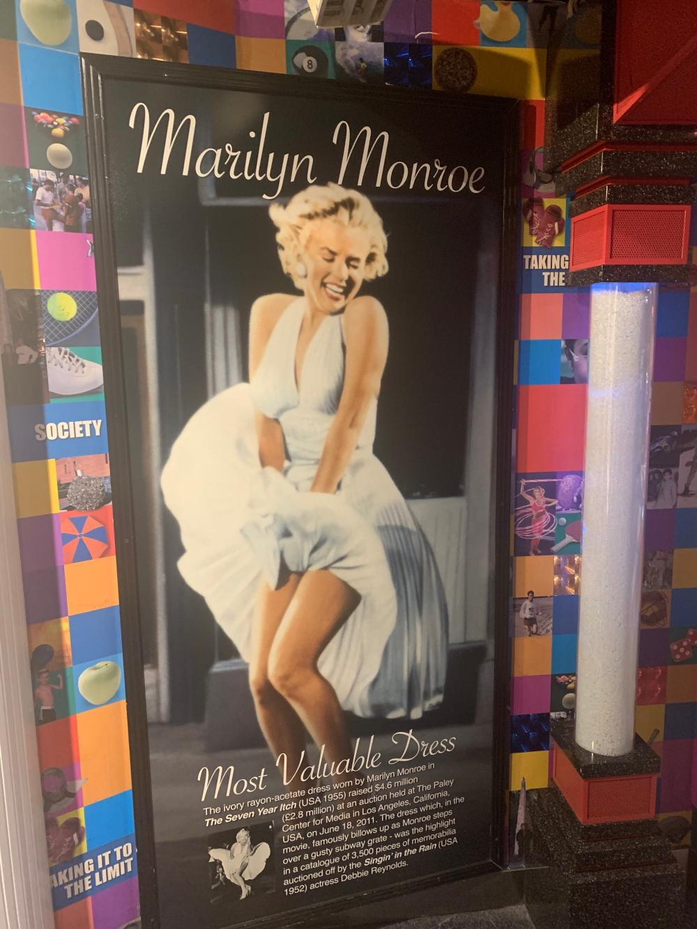 Most Valuable Dress Marilyn Monroe Guinness Museum Display