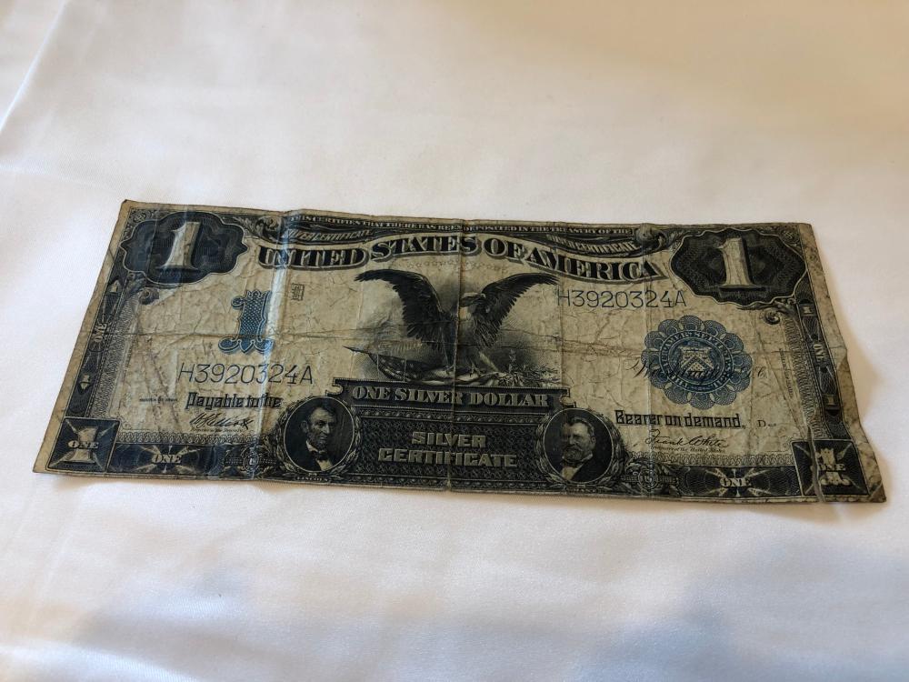 1899 $1 Silver Certificate
