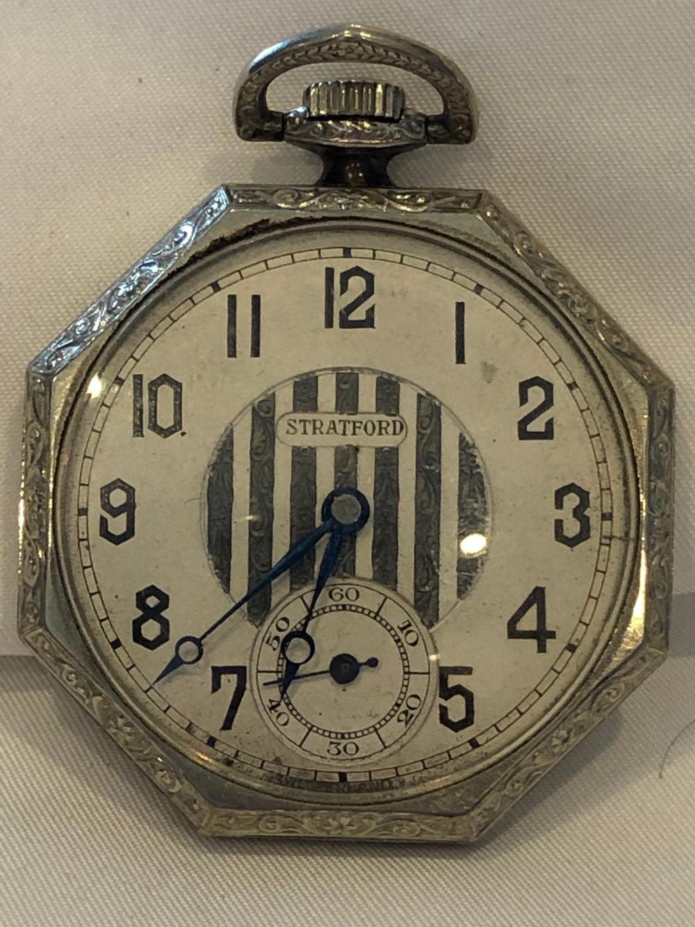Waltham Premiere 19 Jewels Pocket Watch