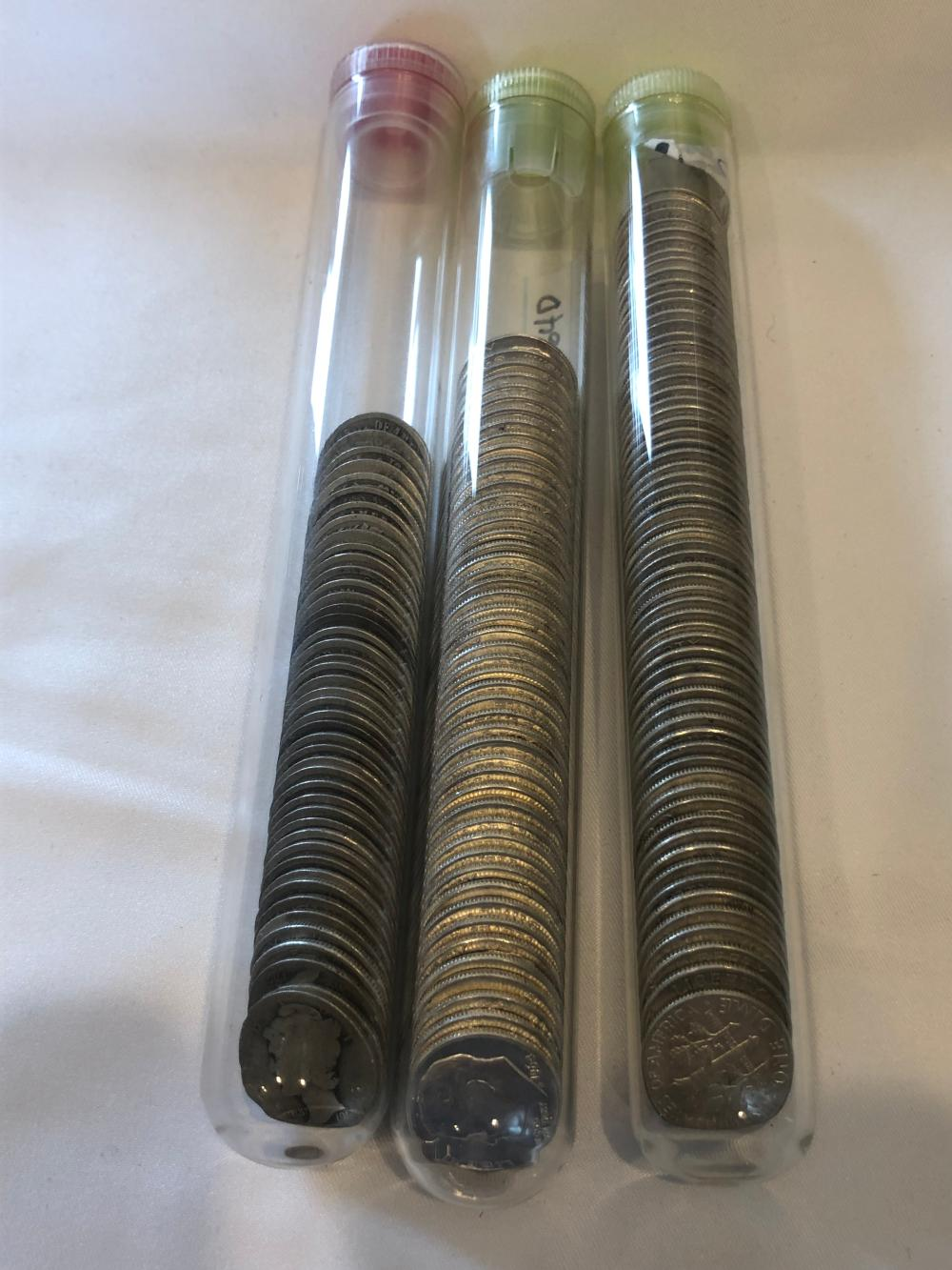 160 Various Year Silver Dimes
