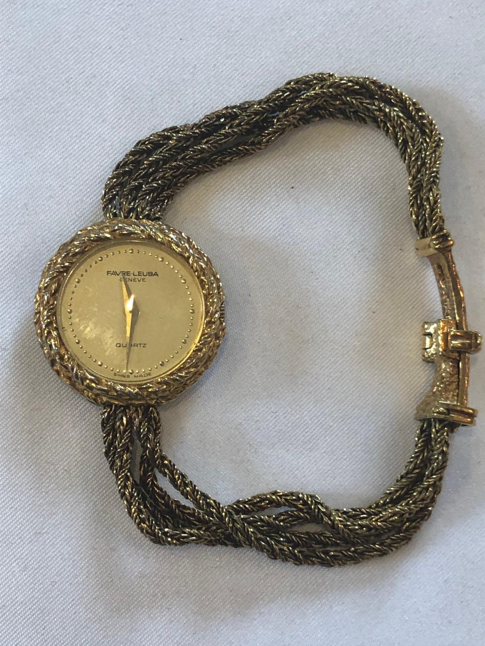 Favre-Leuba Ladies Gold Filled Watch