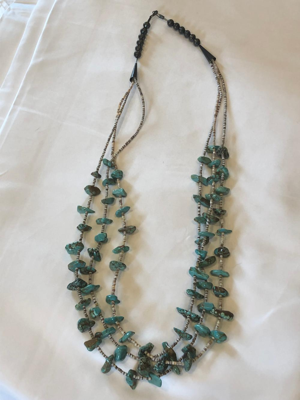 Navajo Turquois Necklace