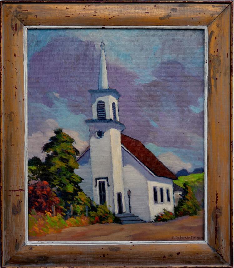 First Congregational Church, Mary DeNeale Morgan