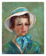Girl in Bonnet