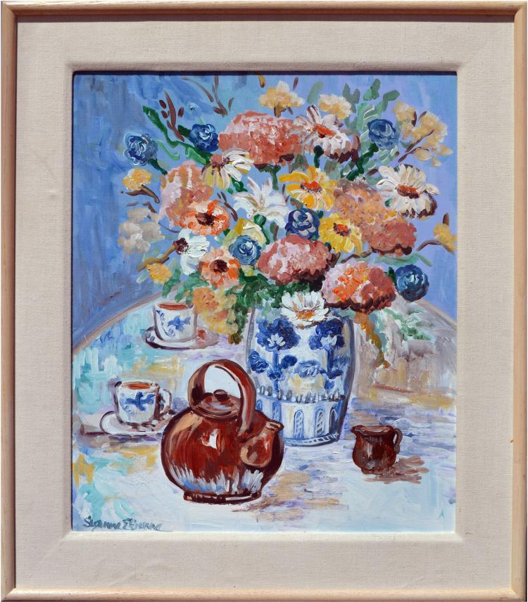 Flower Vase and Teapot