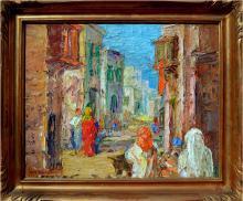 Moroccan Street Scene 1930