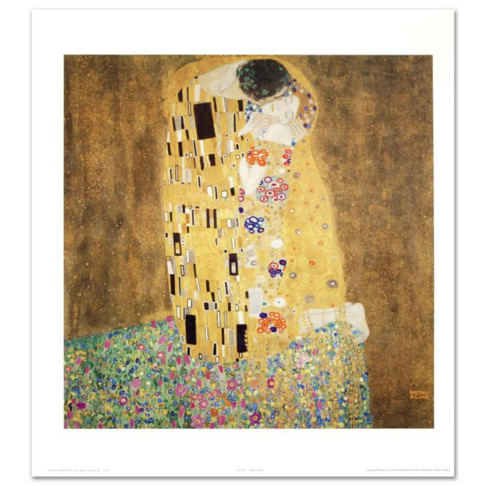 The Kiss Fine Art Print By Gustav Klimt 1862 1918 Creat