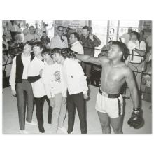 Muhammad Ali Licensed Photograph of the Heavyweight Champ and the Beatles