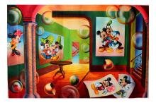 Alexander Astahov- Original Oil on Canvas Mickey Mouse Lover