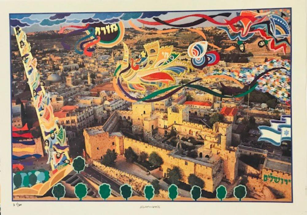 Raphael Abecassis Limited Edition Lithograph