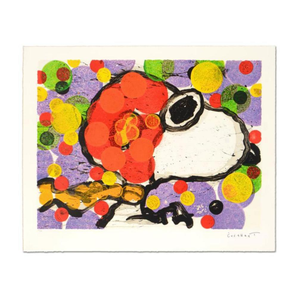 """Tom Everhart- Hand Pulled Original Lithograph """"Synchronize My Boogie Afternoon"""""""