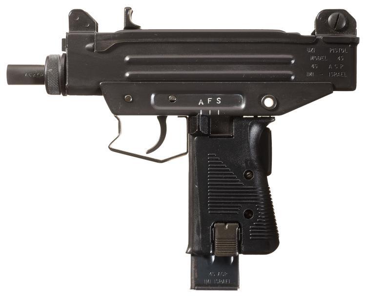 UZI Pistol with BG Machine Bolt, Full Transferrable Machine Gun