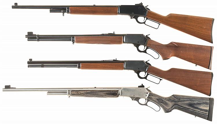 1985 Marlin Arms Firearms Gun Catalog