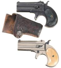 Two Remington Over/Under Derringers