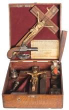 Vampire and Werewolf Hunting Kit with Percussion Pistol