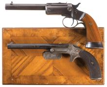 Two Tip-Up Pistols
