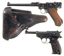 Two German Semi-Automatic Military Pistols