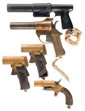 Five Flare Pistols