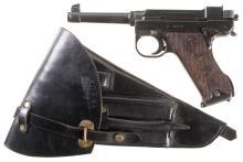 Swedish Husqvarna Lahti Model 40 Pistol with Holster