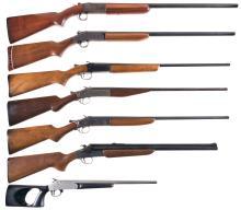 Six Shotguns and One Combination Gun