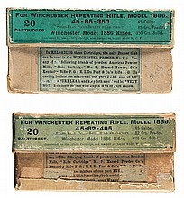 Scarce Winchester Boxed Model 1886 Rifle Ammunition